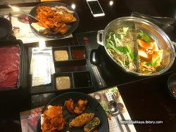 다양한 메뉴를 맛 볼 수 있는 계절 밥상.