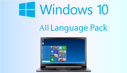 윈도우 10 언어팩 - Windows 10 Fall Creators Update (1709 RS3) 16299.15 All Languages packs