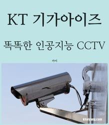 CCTV, 인공지능과 만나면 어떻게 변할까? KT 기가아이즈