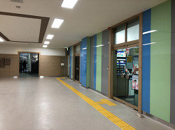 동편 출입구 환경개선 공사 및 휴게실 설치