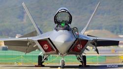 최강의 전투기 F-22 Raptor ADEX에서 D800 크롭놀이로 만나다.