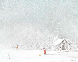 [ 뉴에이지 추천 / 피아노곡 ] 7pm - 겨울인사
