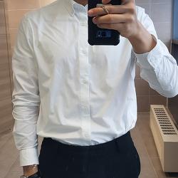 지오다노 포플린 셔츠 흰색은 사지 마세요.