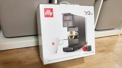 일리 illy Y3.2 캡슐 커피 에스프레소 머신 개봉기