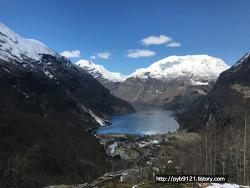 노르웨이 여행 : 노르웨이 최고 피오르 게이랑에르피오르 -유네스코세계문화유산