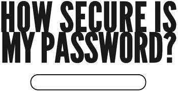 내 비밀번호는 안전한가?