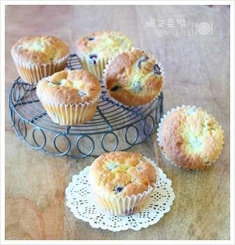 핫케이크 가루로 만든....산딸기 컵케익, 산딸기 컵케이크
