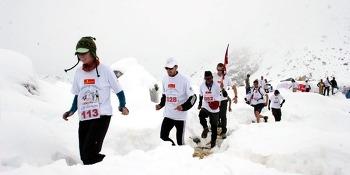 네팔, 세계에서 가장 높은 지역서 열리는 '텐징-힐러리 에베레스트'마라톤 대회 개최