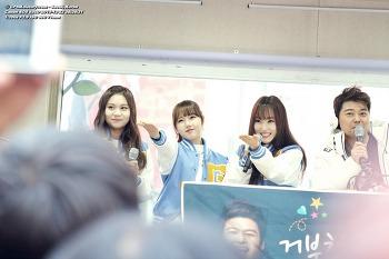 151222 서울 명동 굿모닝FM 전현무입니다 공개생방송 여자친구 GFriend 직찍