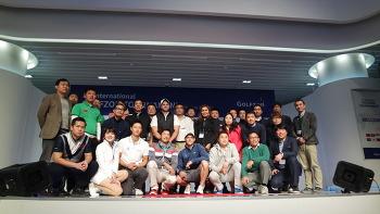 골프존 온라인 대전으로 펼쳐진 '인터내셔날 GLT' 대회 현장 (@조이마루)