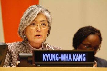 강경화 외교부 장관 내정자 국내외 반응