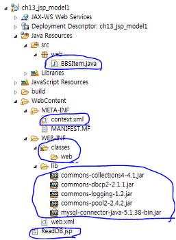 JSP/Servlet – 모델 1로 웹애플리케이션 설계하기