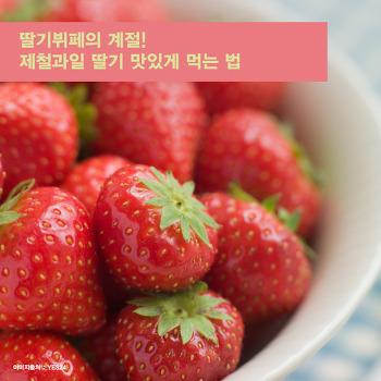 딸기뷔페의 계절! 제철과일 딸기 맛있게 먹는 법