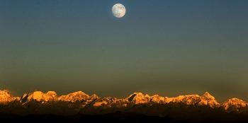 네팔 카트만두에서 촬영된 68년만의 슈퍼문