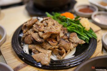 더진국, 진한 수육국밥과 감자만두가 일품