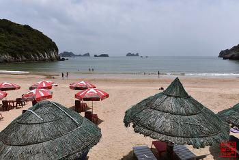 베트남 하롱 여행 #8 - 배에 오토바이 싣고 깟바섬 들어가는 방법과 깟꼬해변
