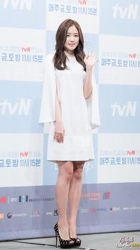 160810 tvN 불금불토스페셜 '신데렐라와 네 명의 기사' 제작발표회 손나은 직찍 By.6412