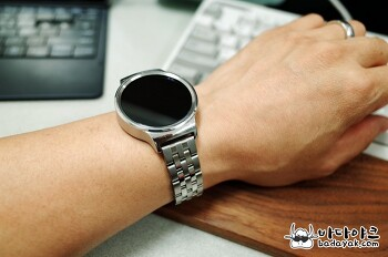 화웨이 워치 시계 줄을 스틸 밴드로 교체하는 방법