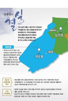 [결실] 김종훈의원의 강남을 발전 4년 회고