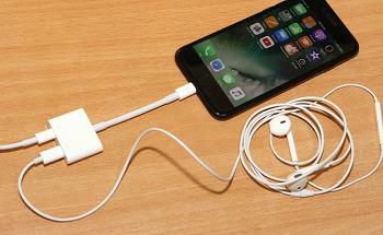 아이폰7 이어폰 충전 동시에 벨킨 Lightning Audio + Charge Rockstar