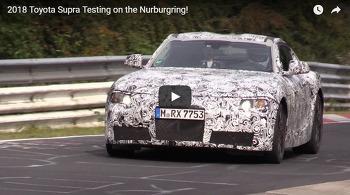[Spy MOVIE] 2018 Toyota Supra Testing on the Nurburgring!