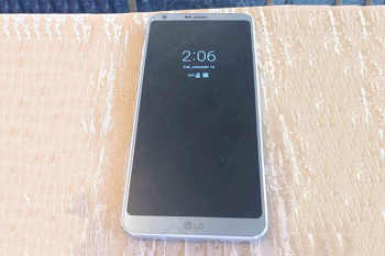 LG G6 실제 사진 유출! AOD 기능과 디자인 확인!