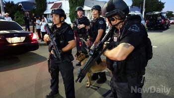 투입은 경찰특공대, 검거는 일반경찰?