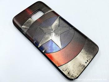 Aliexpress (알리 익스프레스)에서 구입한 캡틴 아메리카 갤럭시S7 케이스 수령!!!!