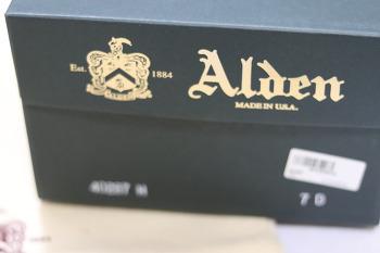 알든 탱커 부츠 alden 40287 구매 후기