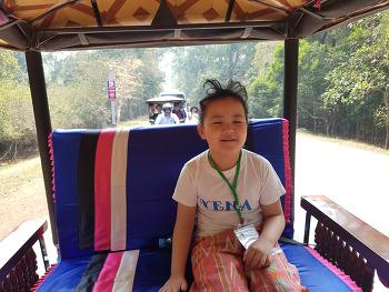 [시은공주] 캄보디아 유네스코유적지 방문 1