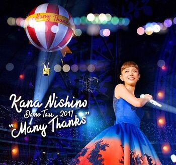 "Kana Nishino – Dome Tour 2017 ""Many Thanks"""