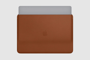 2018 맥북프로를 위한 비싼 케이스! 애플 가죽 슬리브