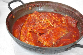 [여수] 푸른파도식당 ::  맛있는 갈치조림 단일 메뉴