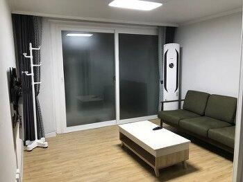 신혼집의 소소한 인테리어 (리바트가구,  LG가전제품, 부산진시장커튼)