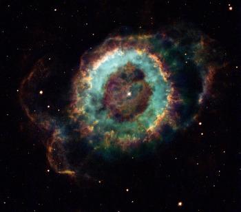 [APOD] NGC 6369: 작은 유령 성운 (2017.10.28.)