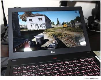 배틀그라운드 게임 되는 고사양 노트북, 게이밍노트북(15G870-XA70K)