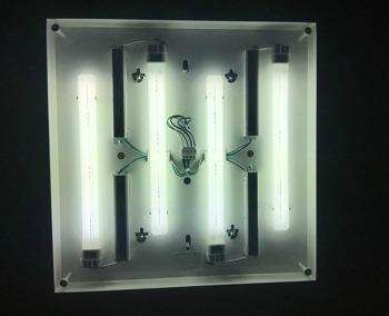 LED모듈 클래어G3 이용한 형광등 교체방법
