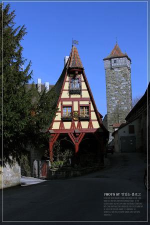 로텐부르크 관광 2편, 세상에서 가장 오래된 주차장을 만나다