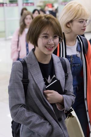 [170328] 김포공항 입국 - 채영이