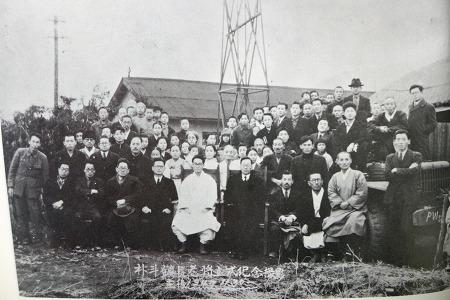 1947년 박두진 시인 안양중앙교회 장로 되던 날
