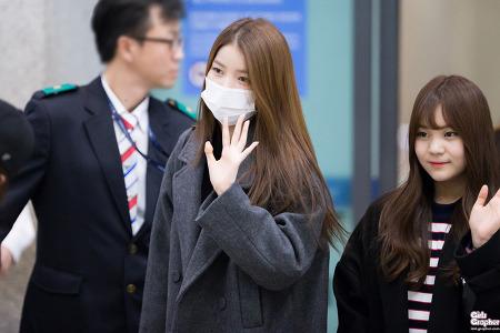 [PHOTO] 161203 여자친구 인천공항 입국 by Girls Grapher