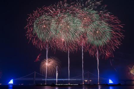 가을 밤을 수놓다. 제11회 부산불꽃축제 #2