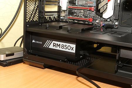 커세어 파워 CORSAIR RM850x 전압 소음 측정