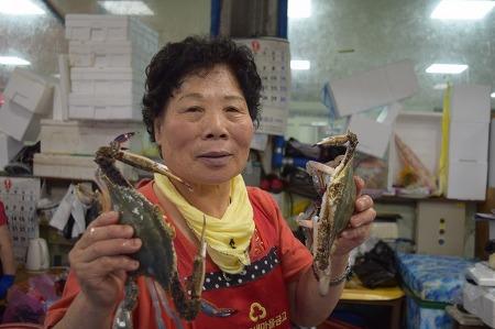 서천특화시장 점포이야기 - 꽃게 판매, 갑례수산