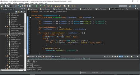 소수 구하는 알고리즘 - 자바 코딩