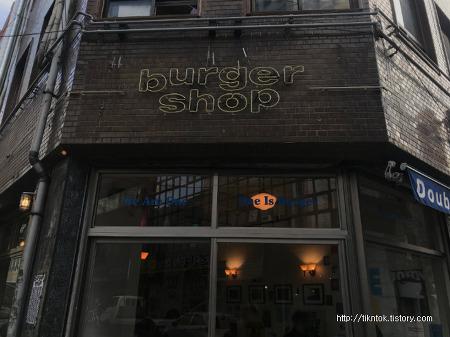 서면 전포동 전리단길 수제햄버거 맛집, 유럽 분위기 물씬 풍기는 버거샵(Burger shop)