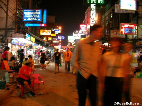 Thailand, 2004. [카오산]