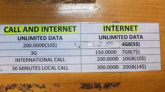 [다낭] 베트남 다낭 3G 유심 구입은 꼭 여기서 하세요.