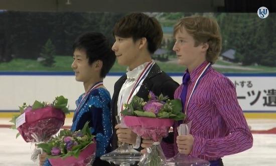 이준형, 한국남자 싱글 스케이터 최초로 ISU 공인 대회 우승