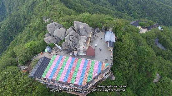 팔공산 갓바위 아름다운 이곳